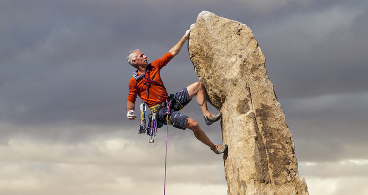 Training Considerations for Older Climbers